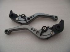 KTM 1290 SUPERDUKE (14-15), CNC levers short titanium/black adjusters, F11/M11